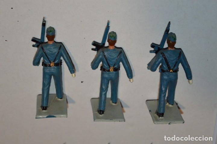 Figuras de Goma y PVC: EJERCITO DEL AIRE - Antiguo/vintage - 13 Soldados desfilando - REAMSA y GOMARSA - ¡Mira fotos! - Foto 16 - 220887811
