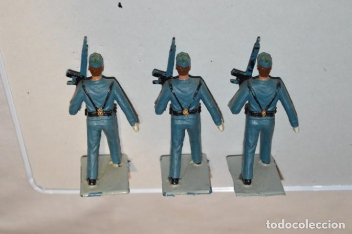 Figuras de Goma y PVC: EJERCITO DEL AIRE - Antiguo/vintage - 13 Soldados desfilando - REAMSA y GOMARSA - ¡Mira fotos! - Foto 17 - 220887811