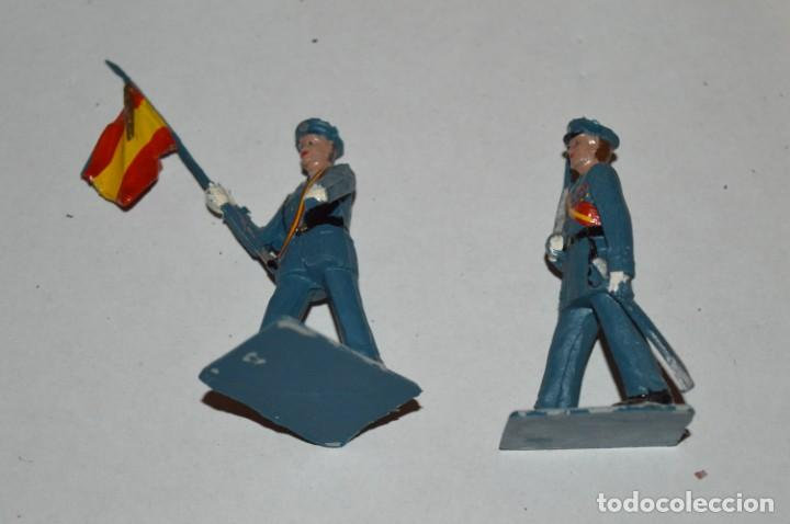 Figuras de Goma y PVC: EJERCITO DEL AIRE - Antiguo/vintage - 13 Soldados desfilando - REAMSA y GOMARSA - ¡Mira fotos! - Foto 19 - 220887811