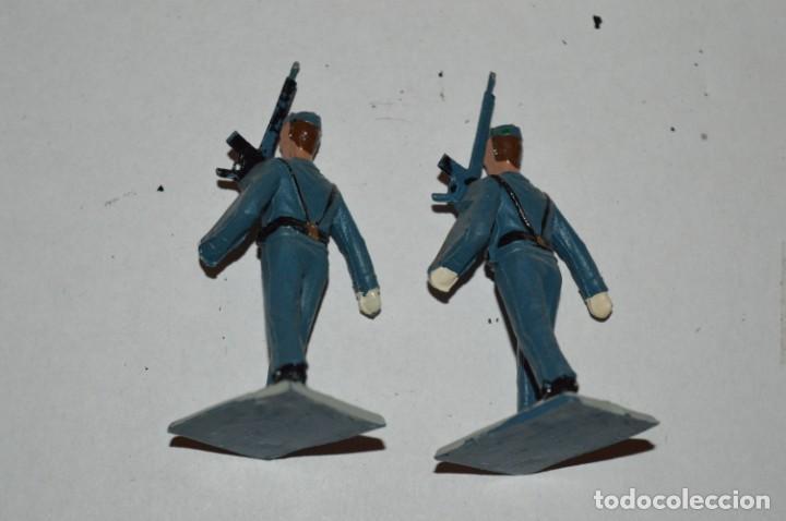 Figuras de Goma y PVC: EJERCITO DEL AIRE - Antiguo/vintage - 13 Soldados desfilando - REAMSA y GOMARSA - ¡Mira fotos! - Foto 21 - 220887811