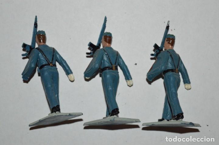 Figuras de Goma y PVC: EJERCITO DEL AIRE - Antiguo/vintage - 13 Soldados desfilando - REAMSA y GOMARSA - ¡Mira fotos! - Foto 22 - 220887811