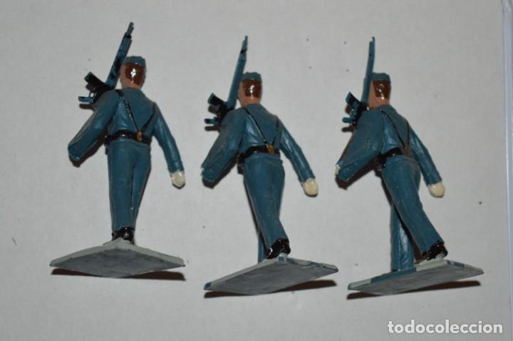 Figuras de Goma y PVC: EJERCITO DEL AIRE - Antiguo/vintage - 13 Soldados desfilando - REAMSA y GOMARSA - ¡Mira fotos! - Foto 23 - 220887811