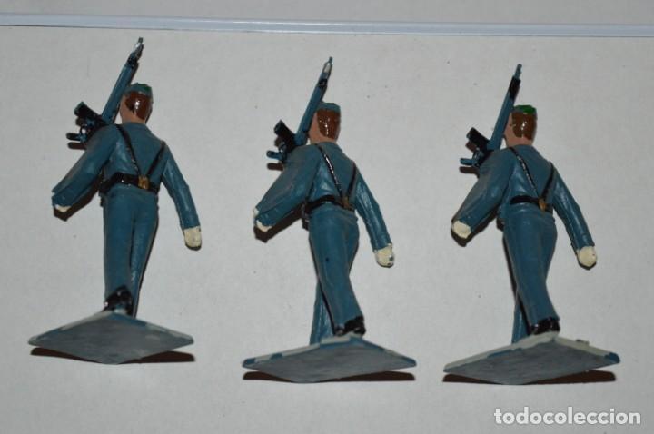 Figuras de Goma y PVC: EJERCITO DEL AIRE - Antiguo/vintage - 13 Soldados desfilando - REAMSA y GOMARSA - ¡Mira fotos! - Foto 24 - 220887811