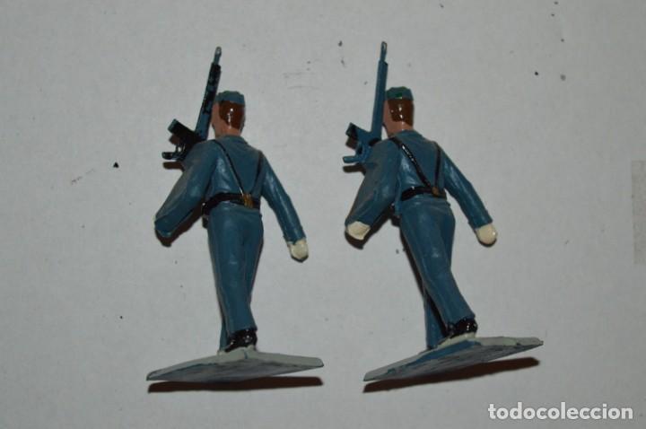 Figuras de Goma y PVC: EJERCITO DEL AIRE - Antiguo/vintage - 13 Soldados desfilando - REAMSA y GOMARSA - ¡Mira fotos! - Foto 25 - 220887811