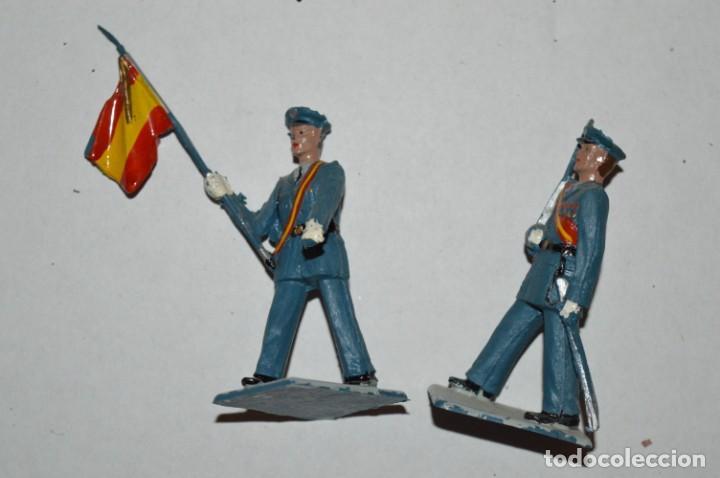 Figuras de Goma y PVC: EJERCITO DEL AIRE - Antiguo/vintage - 13 Soldados desfilando - REAMSA y GOMARSA - ¡Mira fotos! - Foto 26 - 220887811