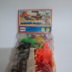 Figuras de Goma y PVC: COMANSI / NOVOLINEA REF. 67 LA CARAVANA DEL OESTE. Lote 221081477