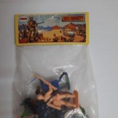 Figuras de Goma y PVC: COMANSI / NOVOLINEA .- BOLSA SIN ABRIR DE DAVI CROCKETT , EL HEROE DEL ALAMO. Lote 221084733