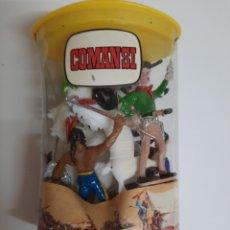 Figuras de Goma y PVC: COMANSI / NOVOLINEA .- TUBO BLISTER INDIOS Y VAQUEROS SIN ABRIR. Lote 245051350
