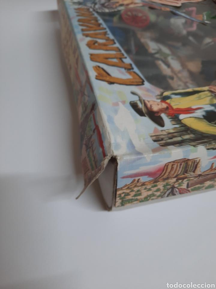 Figuras de Goma y PVC: CAJA CARAVANA DEL OESTE / SOTORRES/ COMPLETA / R/C 21 DILIGENCIA - Foto 3 - 221148365