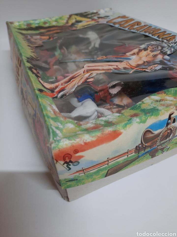 Figuras de Goma y PVC: CAJA CARAVANA DEL OESTE / SOTORRES/ COMPLETA / R/C 21 DILIGENCIA - Foto 5 - 221148365