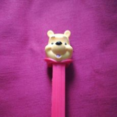 Dispensador Pez: ANTIGUO DISPENSADOR DE CARAMELOS PEZ HUNGARY WINNIE THE POOH DISNEY. Lote 221151700