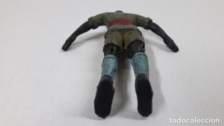 Figuras de Goma y PVC: ASKARI . REALIZADO POR ARCLA . AÑOS 50 . EN GOMA - INTERIOR ALAMBRE - Foto 8 - 221153277