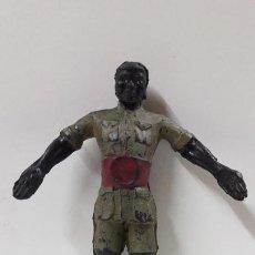 Figuras de Goma y PVC: ASKARI . REALIZADO POR ARCLA . AÑOS 50 . EN GOMA - INTERIOR ALAMBRE. Lote 221153277