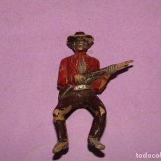 Figuras de Goma y PVC: ANTIGUA FIGURA EN PLÁSTICO PINTADO CONDUCTOR DE CARRETAS - REAMSA - PECH - JECSAN - COMANSI. Lote 221232526
