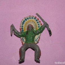 Figuras de Goma y PVC: ANTIGUA FIGURA EN PLÁSTICO PINTADO - REAMSA - PECH - JECSAN - COMANSI. Lote 221232600