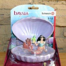 Figuras de Goma y PVC: BAYALA - SCHLEICH - SIRENA CON TORTUGA - 70562 - NUEVO Y EN SU CAJA ORIGINAL. Lote 221271663