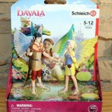Figuras de Goma y PVC: BAYALA - SCHLEICH - SERA Y JARO - 70583 - NUEVO Y EN SU CAJA ORIGINAL. Lote 221272013