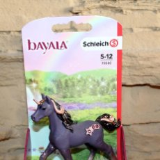 Figuras de Goma y PVC: BAYALA - SCHLEICH - UNICORNIO ESTRELLA FUGAZ - 70580 - NUEVO Y EN SU BLISTER - SHOOTING STAR UNICORN. Lote 221272160