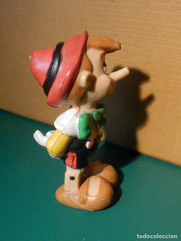 FIGURA GOMA, PVC - PERSONAJE DIBUJOS ANIMADOS - PINOCHO - WALT DYSNEY - COMICS SPAIN (Juguetes - Figuras de Goma y Pvc - Comics Spain)