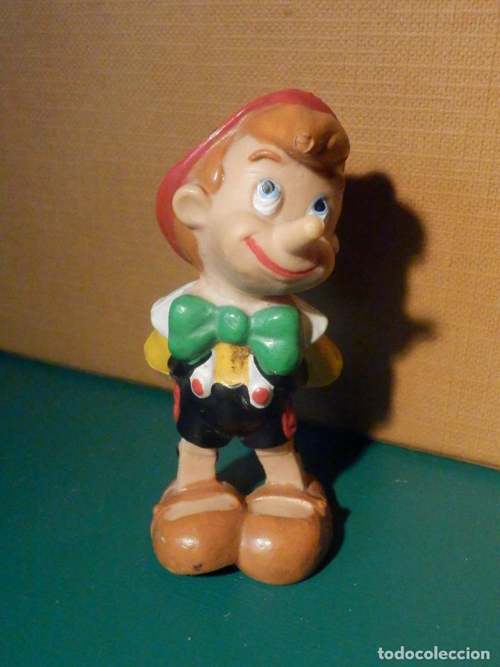 Figuras de Goma y PVC: FIGURA Goma, PVC - PERSONAJE DIBUJOS ANIMADOS - Pinocho - Walt Dysney - Comics Spain - Foto 2 - 221290770