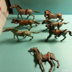 Figuras de Goma y PVC: INDIOS Y VAQUEROS ESTILÓ COMANSI REAMSA TEIXIDO PECH LAFREDO. Lote 221303905