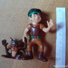 Figuras de Goma y PVC: JUGUETE, FIGURA, MUÑECO GOMA O PVC - HASTOR - LA CORONA MAGICA - COMICS SPAIN. Lote 221304813