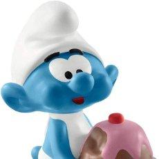 Figuras de Goma y PVC: SCHLEICH 20815 - PITUFO GOLOSO. Lote 221304821