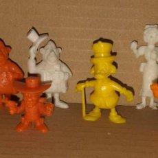 Figuras de Goma y PVC: LOTE DE 9 FIGURAS DUNKIN. Lote 221359543