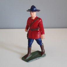 Figuras de Goma y PVC: POLICÍA MONTADA DEL CANADÁ, STARLUX FRANCE, AÑOS 60/70 AL ESTILO DE LOS DE REAMSA.. Lote 221378057