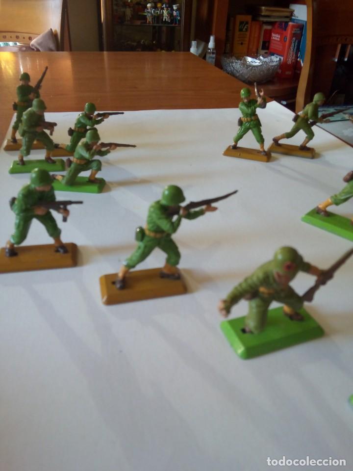 Figuras de Goma y PVC: BRITAINS / BRITAINS DEETAIL / BRITAINS AMERICANOS / U.S BRITAINS - Foto 4 - 221437391