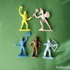 Figuras de Goma y PVC: FIGURAS Y SOLDADITOS DE DIFERENTES CTMS - 12717. Lote 221439320