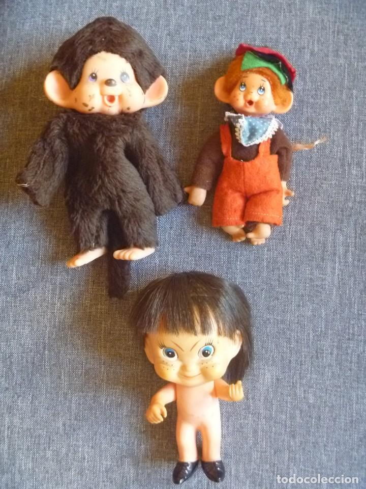 MUÑECA GOMA DURA 1972 SELLADA JAPAN MAS SEKIGUCHI ANTIGUAS REGALO (Juguetes - Figuras de Goma y Pvc - Otras)
