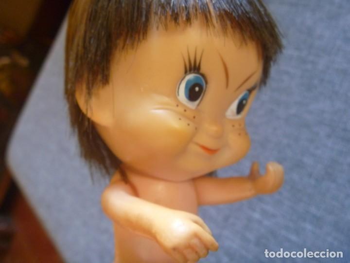 Figuras de Goma y PVC: MUÑECA GOMA DURA 1972 SELLADA JAPAN MAS SEKIGUCHI ANTIGUAS REGALO - Foto 7 - 221464252