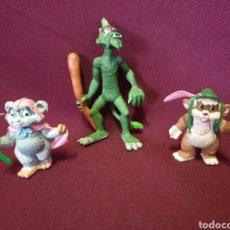 Figuras de Goma y PVC: LOTE 3 FIGURAS PVC. COMICS SPAIN. COLECCION EWOKS - STAR WARS.. Lote 221480142
