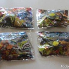 Figuras de Borracha e PVC: LOTE 4 FIGURA XENOX SPACE WARRIOS SIN ABRIR PANINI. Lote 221494190
