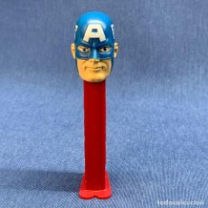 Dispensador Pez: DISPENSADOR PEZ CAPITAN AMERICA. Lote 221611926