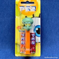 Dispensador Pez: DISPENSADOR PEZ BOB ESPONJA. Lote 221612553