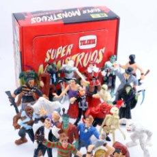 Figuras de Goma y PVC: SUPER MONSTRUOS SERIE ESPECIAL LOTE DE 22. INCLUYE CAJA. YOLANDA, 1992. FIGURAS PVC. OFRT. Lote 221762330