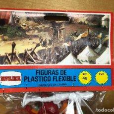 Figuras de Goma y PVC: BOLSA DE SOLDADOS MEDIEVALES. Lote 221649372