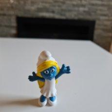 Figuras de Goma y PVC: FIGURA PVC PITUFINA. Lote 221650080