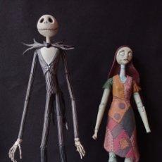 Figuras de Goma y PVC: PESADILLA ANTES DE NAVIDAD SALLY Y JACK SKELETON LEER DESCRIPCION. Lote 221650706