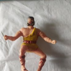 Figuras de Goma y PVC: FIGURA TAURUS ESTEREOPLAST SERIE EL JABATO PLÁSTICO SOPLADO. Lote 221664475