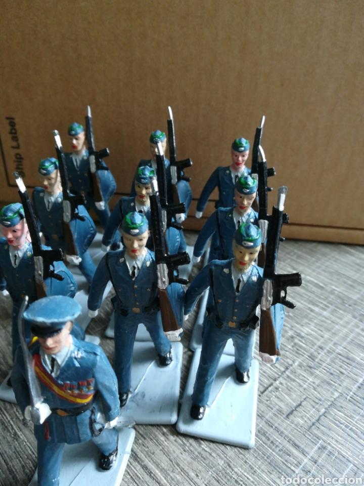 Figuras de Goma y PVC: Ejército de aviación español REAMSA pvc - Foto 2 - 221665412
