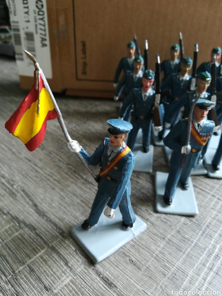 Figuras de Goma y PVC: Ejército de aviación español REAMSA pvc - Foto 3 - 221665412