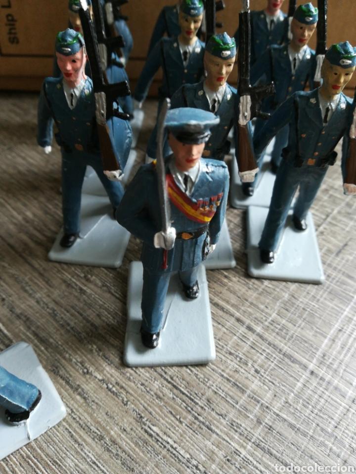 Figuras de Goma y PVC: Ejército de aviación español REAMSA pvc - Foto 4 - 221665412