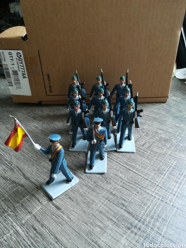 EJÉRCITO DE AVIACIÓN ESPAÑOL REAMSA PVC (Juguetes - Figuras de Goma y Pvc - Reamsa y Gomarsa)
