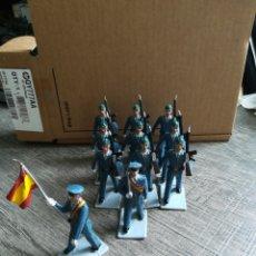 Figuras de Goma y PVC: EJÉRCITO DE AVIACIÓN ESPAÑOL REAMSA PVC. Lote 221665412