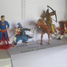Figuras de Goma y PVC: LOTE 4 FIGURAS VARIADAS PVC BULLY LAS DE LAS FOTOS VER FOTOS ADICIONALES DEL LOTE. Lote 221682580