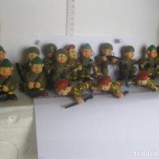 Figuras de Goma y PVC: LOTE 15 -FIGURAS SOLDAD0S VARIADAS PVC WONILANDIA LAS DE LAS FOTOS VER FOTOS ADICIONALES DEL LOTE. Lote 221685012