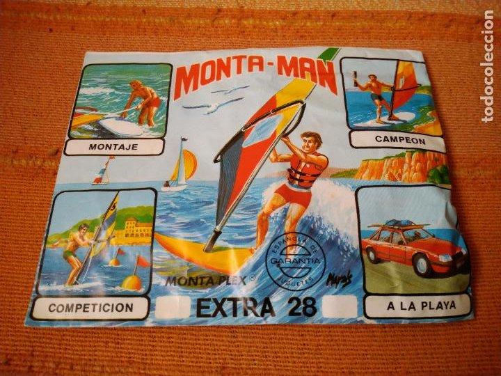 MONTA- MAN EXTRA 28. MONTA PLEX. SOBRE CERRADO, NUEVO. (Juguetes - Figuras de Goma y Pvc - Montaplex)